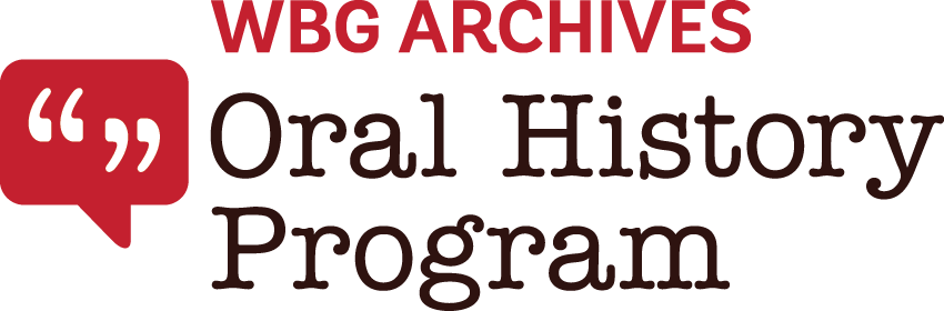 World Bank Group Archive Oral History Logo